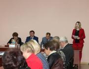 С приветственным словом к гостям и участникам семинара обратилась В.А. Шеленок