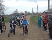 Велопробег школьников, посвященный Дню космонавтики