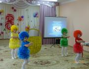 Участников конференции приветствуют воспитанники образовательной организации