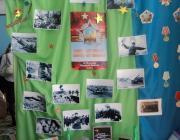 Сотрудники детского сада  проводят работу к 70-летию Победы в ВОВ. В каждой группе создан уголок с данной тематикой.