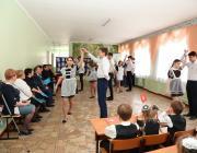 """Обучающиеся МАОУ """"СОШ №7"""" и участники семинара"""